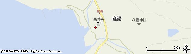 和歌山県日高郡日高町産湯周辺の地図