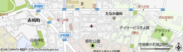 福岡県北九州市若松区西小石町周辺の地図