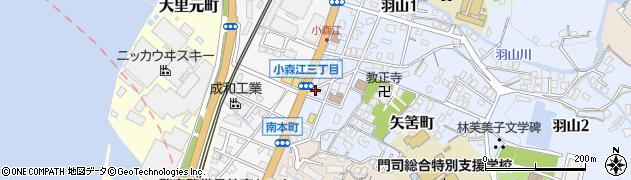 中川塾周辺の地図