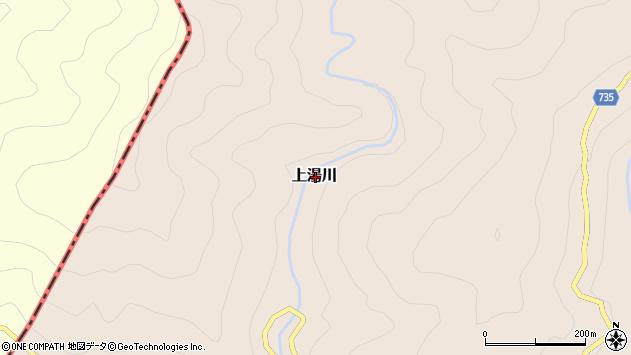 〒637-1559 奈良県吉野郡十津川村上湯川の地図