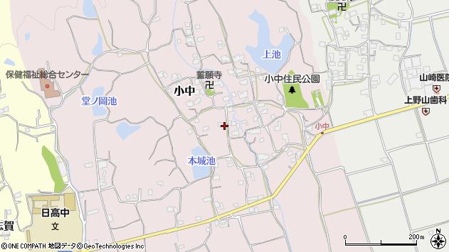 〒649-1212 和歌山県日高郡日高町小中の地図
