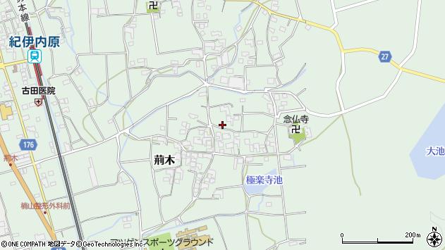 〒649-1211 和歌山県日高郡日高町荊木の地図