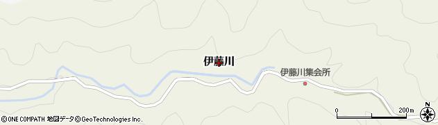 和歌山県日高川町(日高郡)伊藤川周辺の地図