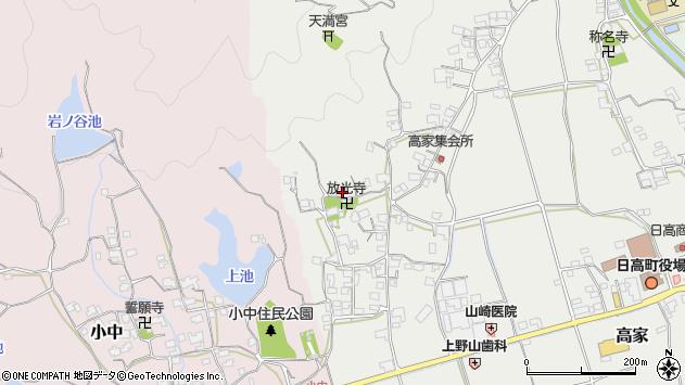 〒649-1213 和歌山県日高郡日高町高家の地図