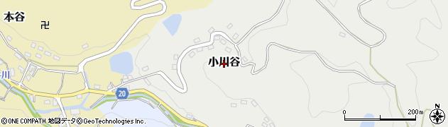 愛媛県松山市小川谷周辺の地図