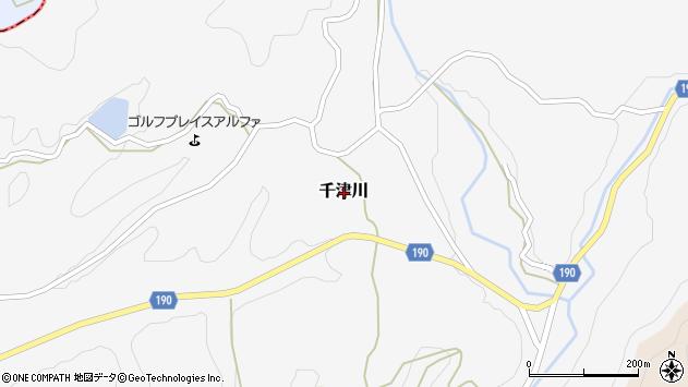 〒649-1332 和歌山県日高郡日高川町千津川の地図