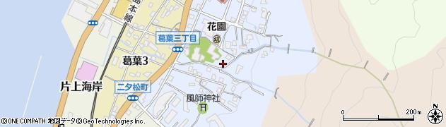 福岡県北九州市門司区風師周辺の地図