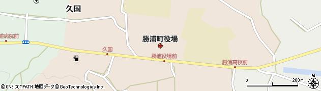 徳島県勝浦郡勝浦町周辺の地図