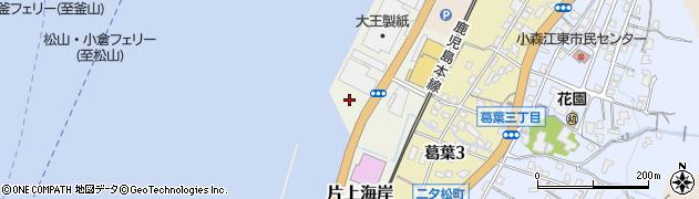 福岡県北九州市門司区片上海岸周辺の地図