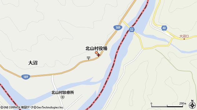 〒647-1600 和歌山県東牟婁郡北山村(以下に掲載がない場合)の地図