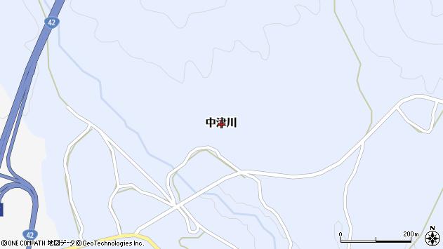 〒649-1325 和歌山県日高郡日高川町中津川の地図