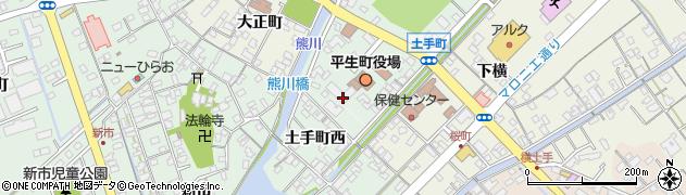 山口県熊毛郡平生町周辺の地図