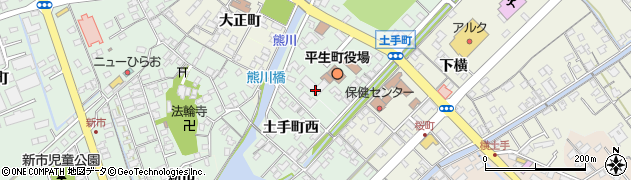山口県平生町(熊毛郡)周辺の地図