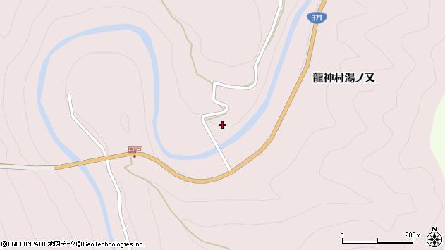 〒645-0524 和歌山県田辺市龍神村湯ノ又の地図