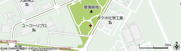 福岡県北九州市若松区響町周辺の地図