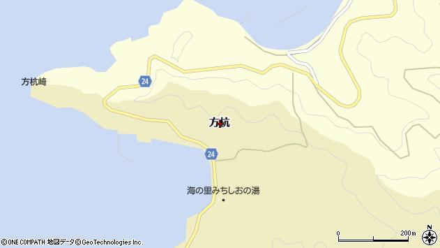 〒649-1225 和歌山県日高郡日高町方杭の地図