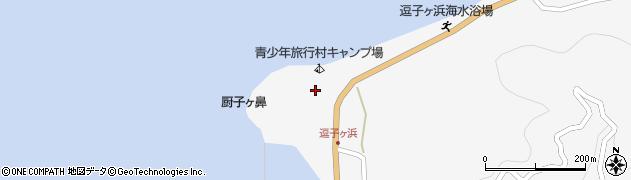 筏八幡宮周辺の地図