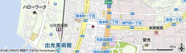 福岡県北九州市門司区東本町周辺の地図