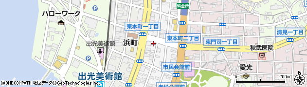 読売新聞門司区読売センター 古城・田野浦周辺の地図