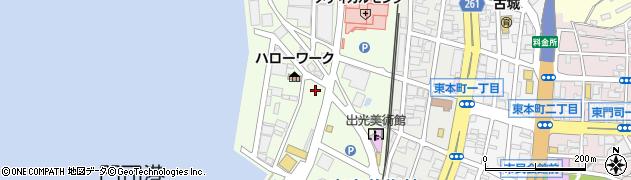 福岡県北九州市門司区東港町周辺の地図