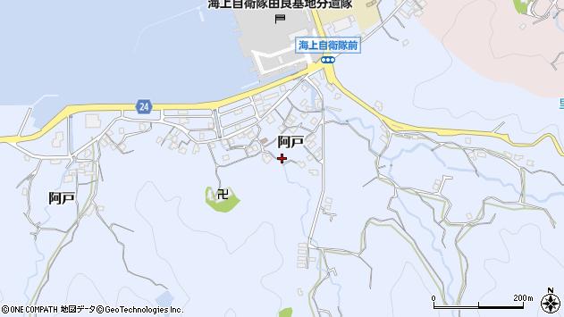 〒649-1113 和歌山県日高郡由良町阿戸の地図
