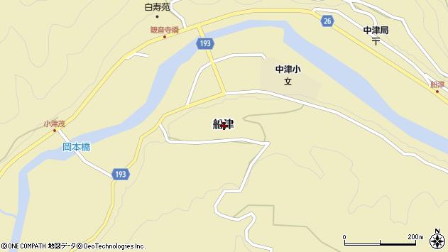 〒644-1111 和歌山県日高郡日高川町船津の地図