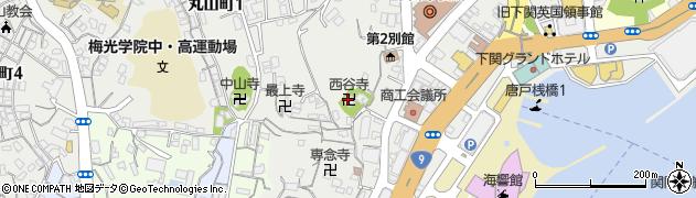 酉谷寺周辺の地図