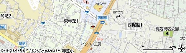 マクドナルド 490宇部店周辺の地図