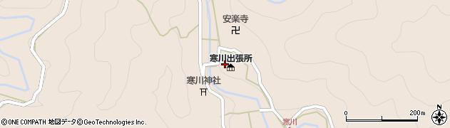寒川郵便局周辺の地図