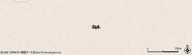 和歌山県日高川町(日高郡)串本周辺の地図