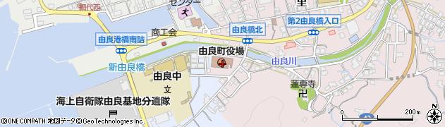 和歌山県日高郡由良町周辺の地図