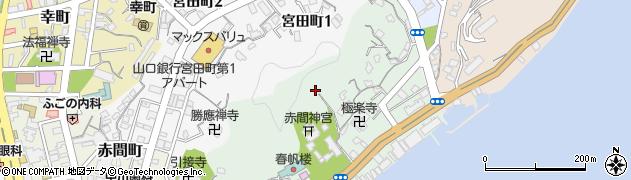 大連神社周辺の地図