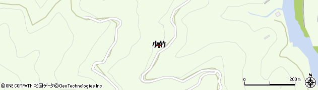 徳島県徳島市飯谷町(小竹)周辺の地図