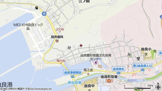 〒649-1112 和歌山県日高郡由良町網代の地図