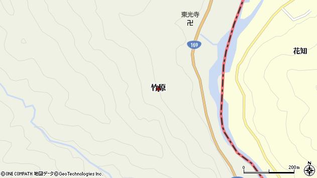〒647-1602 和歌山県東牟婁郡北山村竹原の地図