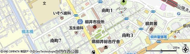 山口県柳井市周辺の地図