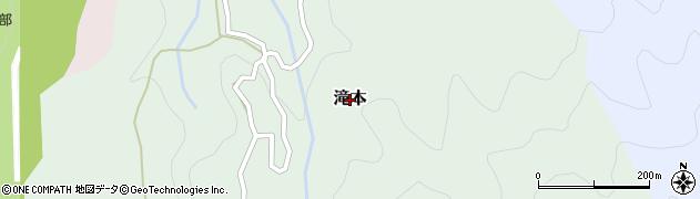 愛媛県松山市滝本周辺の地図