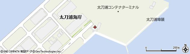 福岡県北九州市門司区太刀浦海岸周辺の地図