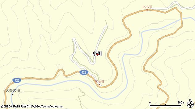 〒637-1441 奈良県吉野郡十津川村小川の地図