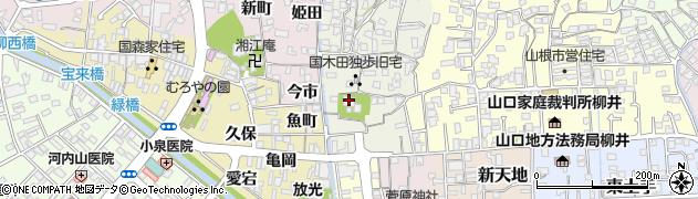 普慶寺周辺の地図