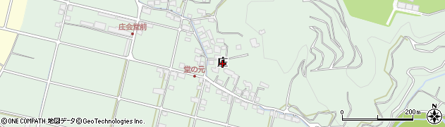 愛媛県松山市庄周辺の地図