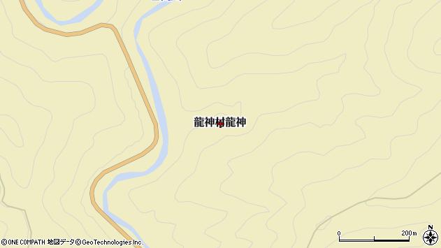 〒645-0525 和歌山県田辺市龍神村龍神の地図