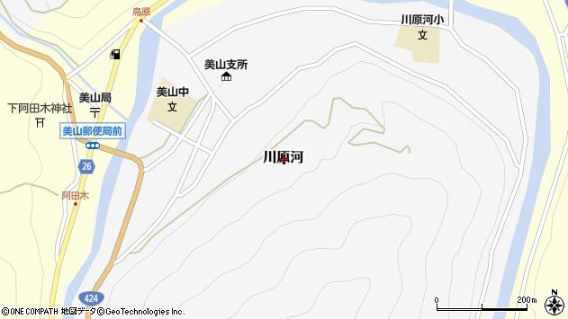 〒644-1201 和歌山県日高郡日高川町川原河の地図