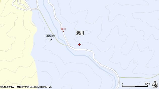 〒644-1213 和歌山県日高郡日高川町愛川の地図