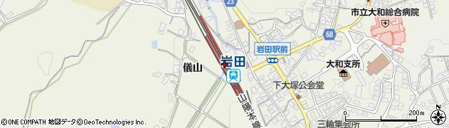 山口県光市周辺の地図