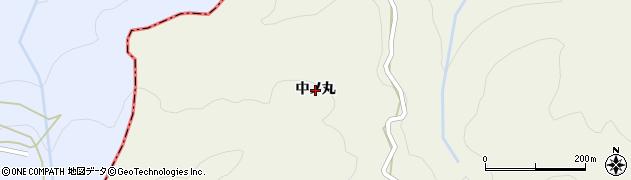 徳島県徳島市八多町(中ノ丸)周辺の地図