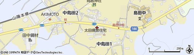 島田団地周辺の地図