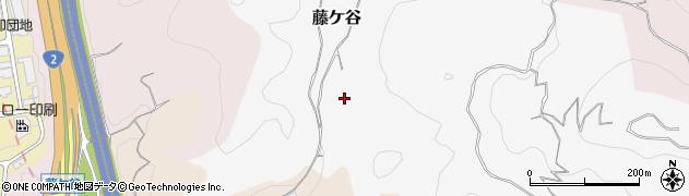山口県下関市藤ケ谷周辺の地図