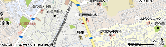 メディアカフェポパイ 下関山の田店周辺の地図