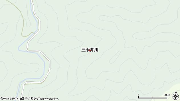 〒644-1131 和歌山県日高郡日高川町三十井川の地図